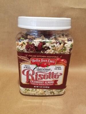 Cranberry Almond Risotto by Bella Sun Luci
