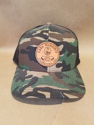 Camo Trucker Hat with LNC Logo