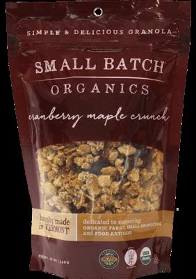 Cranberry Maple Crunch Granola