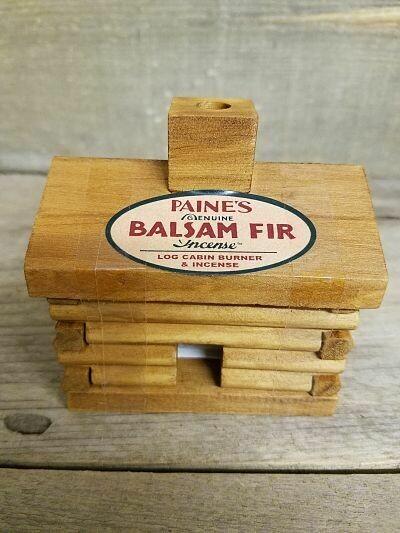 Cabin Burner w/Balsam logs