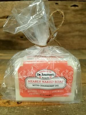 Cran-Magic Nearly Naked Soap with Cranberry Oil