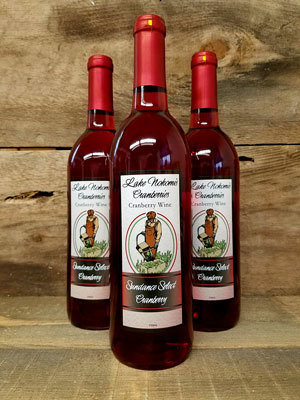 Lake Nokomis Cranberries Sundance Cranberry Wine
