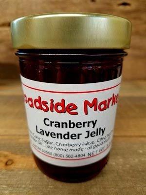Cranberry Lavender Jelly