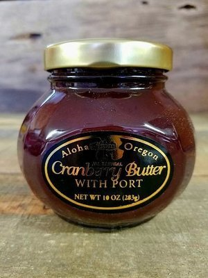 Cranberry Butter with Port