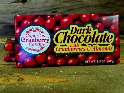 Dark Chocolate with Cranberries & Almonds