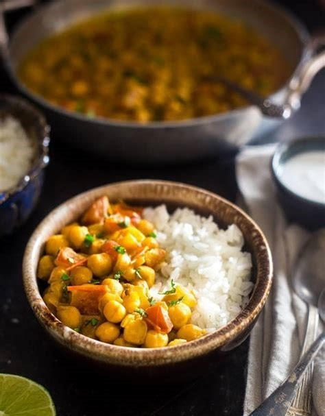 Chickpea  Curry  Vegan