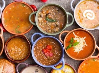 5 Frozen Soups Vegan