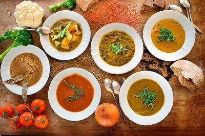 5 Frozen Soups Meat