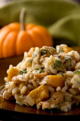 Chicken Roast Pumpkin Risotto