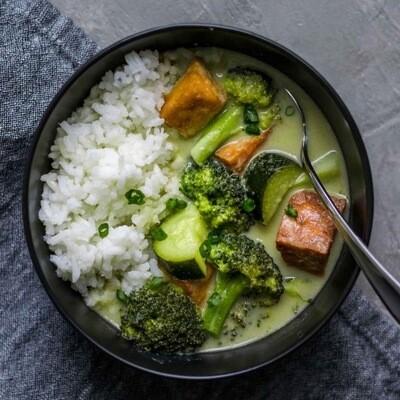 Green Goddess  Vegetable Curry( V)