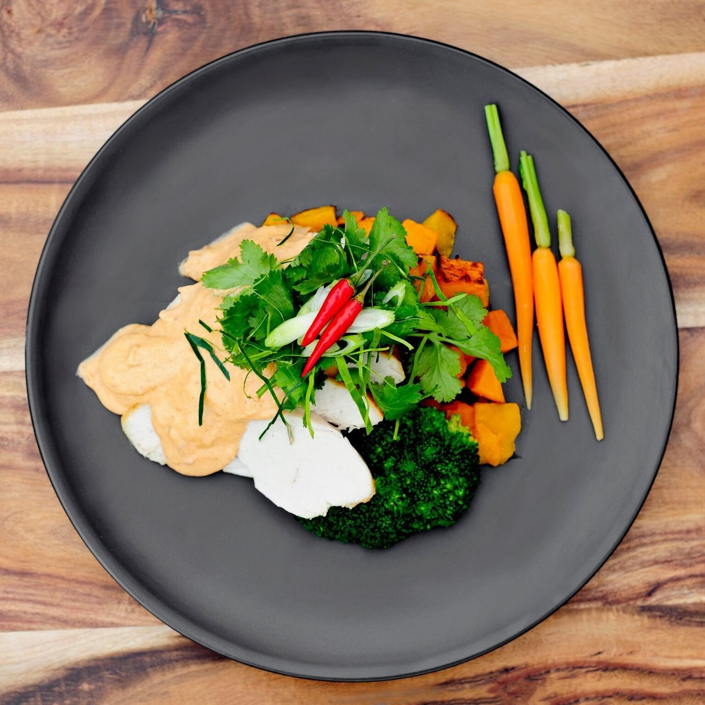 Tom Yum Chicken & Vegetables