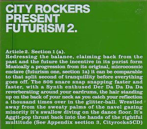 City Rockers Present Futurism 2 - (SOLD OUT)