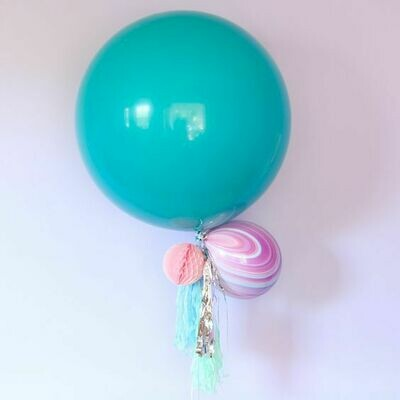 60CM Whimsical Balloon with Tassels