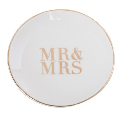 SOLD OUT - Cristina Re Mr and Mrs Trinket Dish