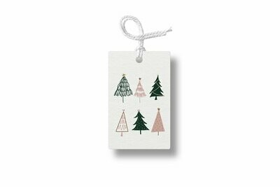 6 Trees Gift Tag