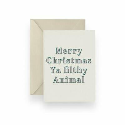 Filthy Christmas Card