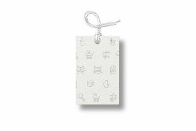 Baby Symbols Gift Tag