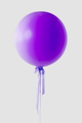Jumbo Violet Balloon