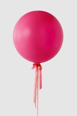 Jumbo Raspberry Balloon