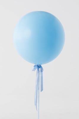 Jumbo Pastel Blue Balloon