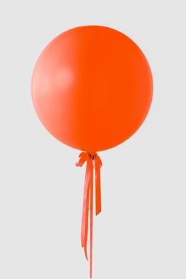 Jumbo Orange Balloon