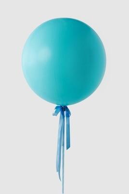Jumbo Teal Balloon