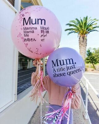 60CM Solid Mother's Day Balloon