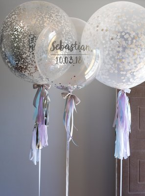 Confetti Trio with Tassels
