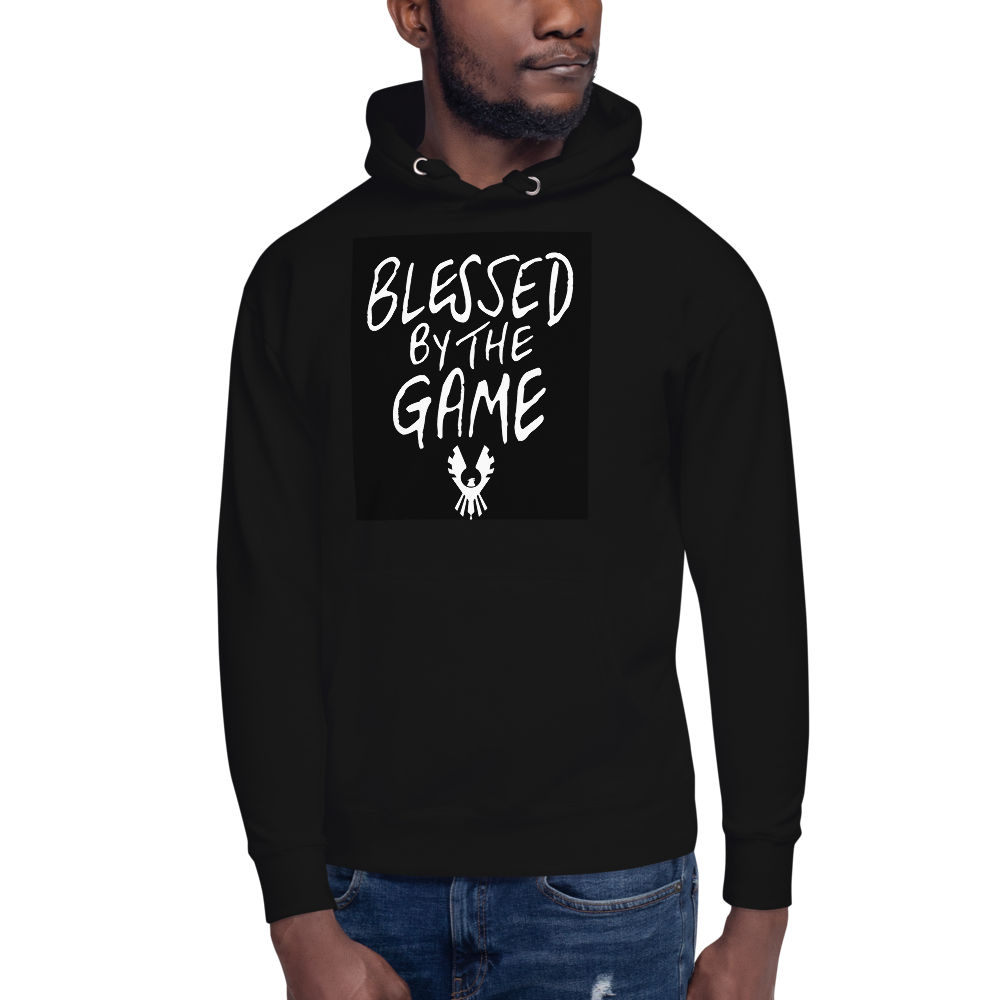 Blessed by the game hoodie
