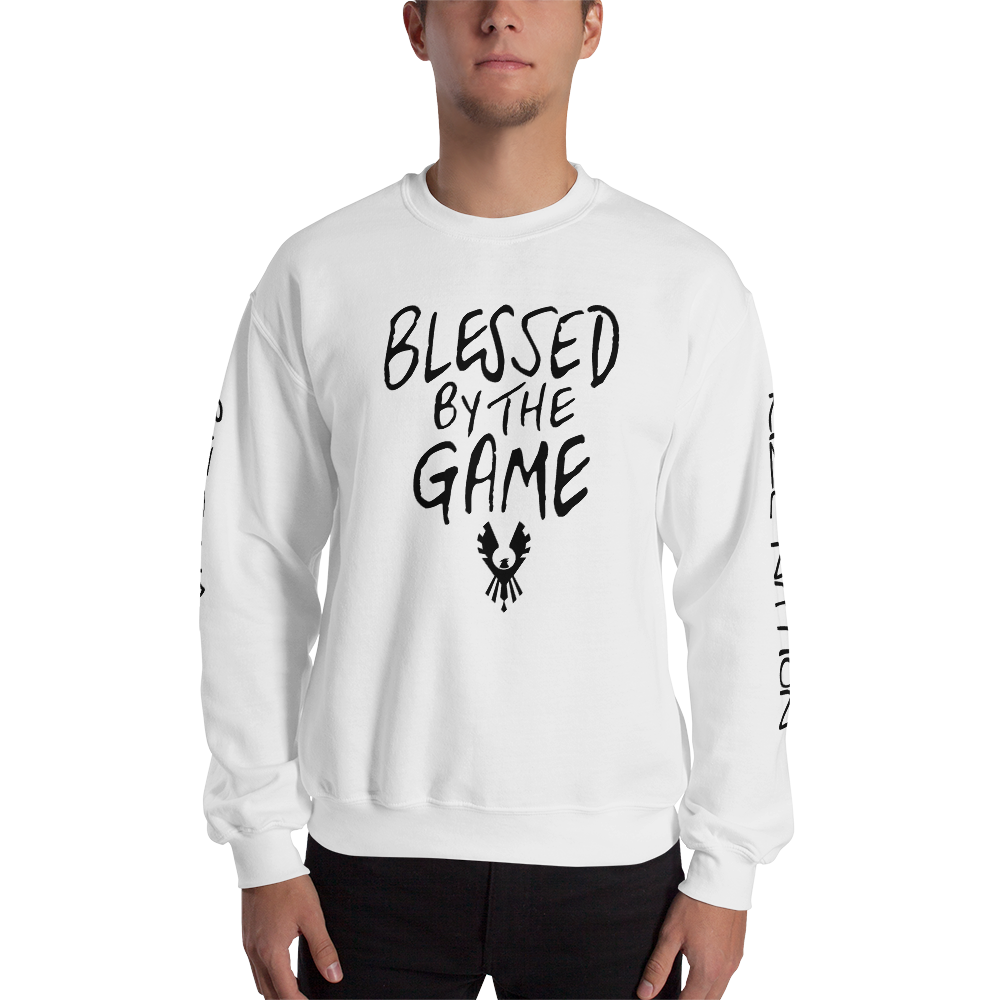 """""""Blessed By the Game"""" Unisex Sweatshirt"""