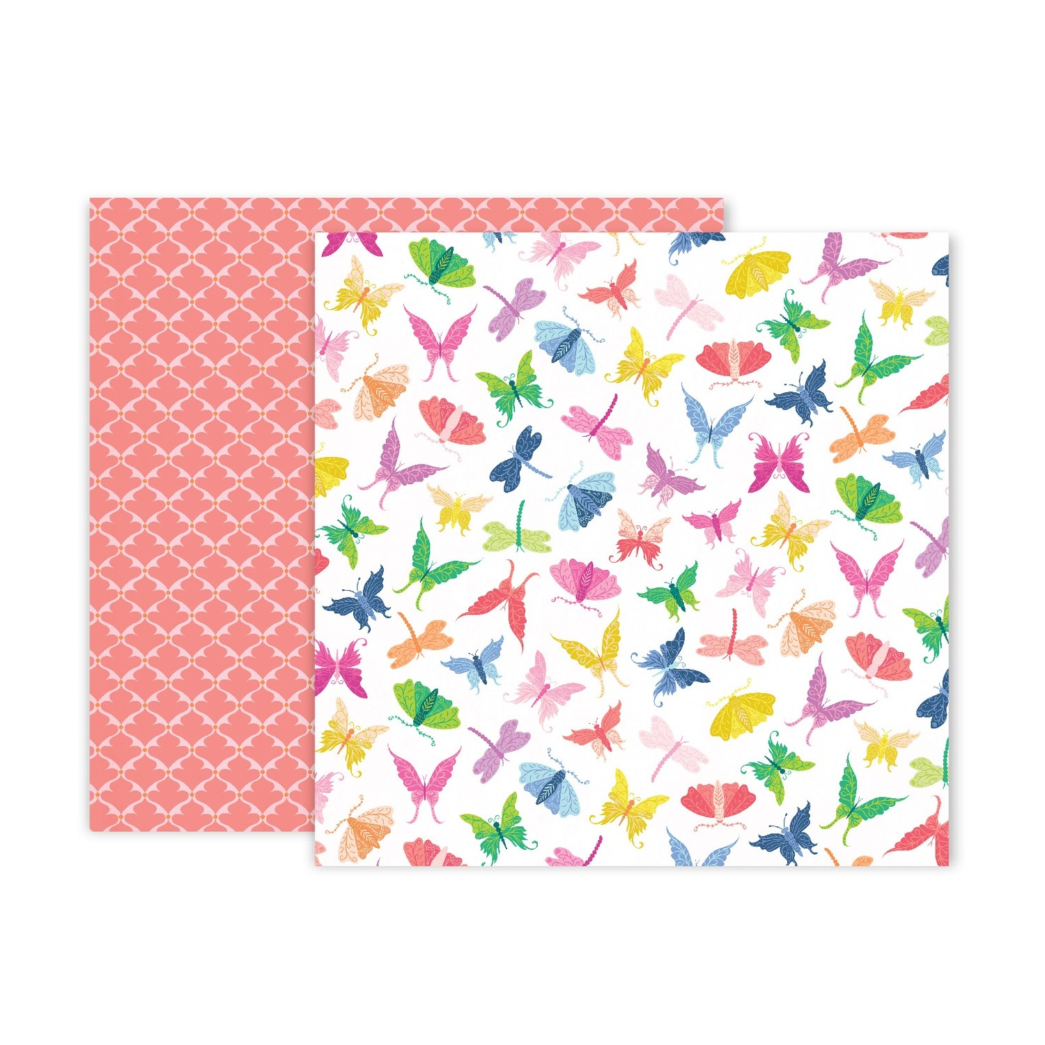 "Papel Doble Cara 12""x12"" - #7 Horizon"