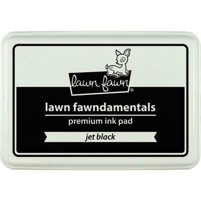 Lawn Fawn Ink Pad - Jet Black
