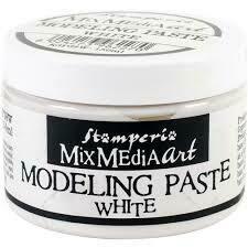 Modeling Paste White - Stamperia