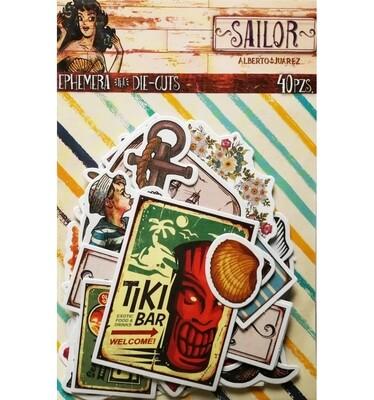 Die Cuts - Sailor