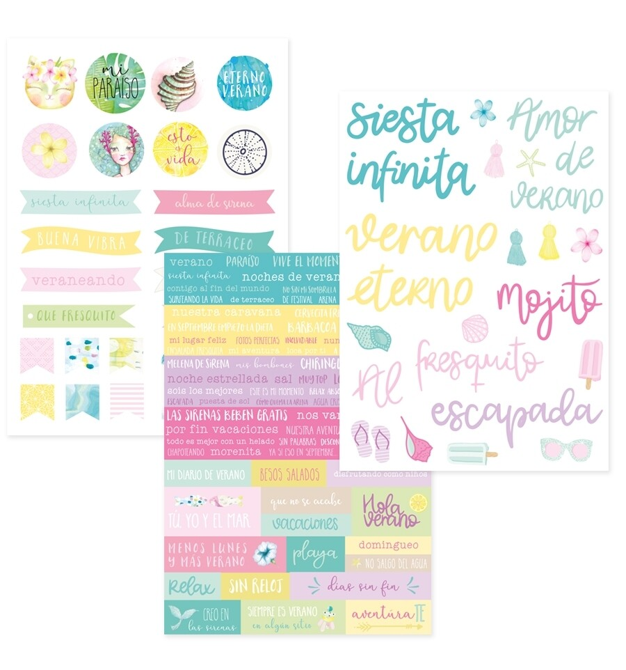 Stickers Frases - Maui