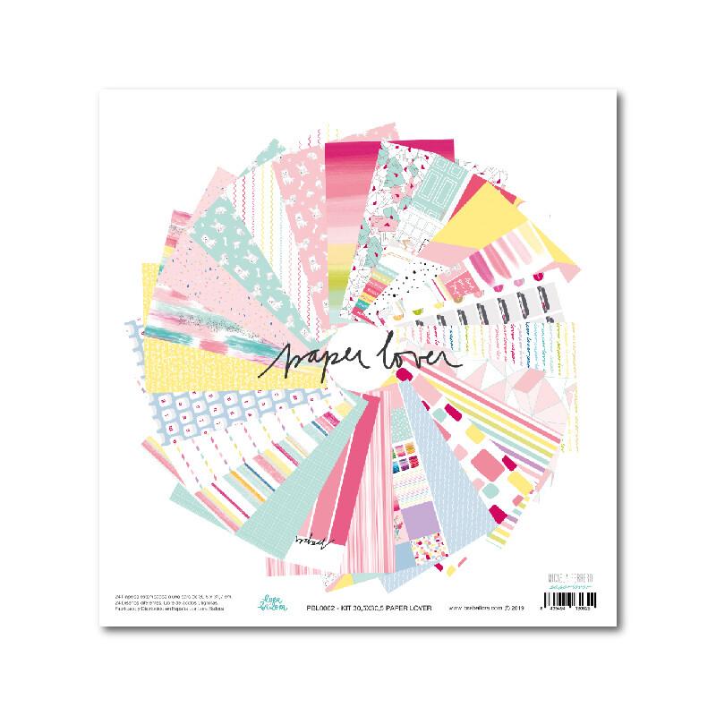 "Colección de Papeles 12""x12"" - Paper Lover"