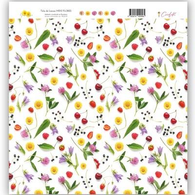 Tela de Lienzo - Flores Minis