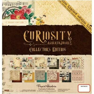 """Colección de Papeles Doble Cara 12""""x12"""" - Curiosity"""