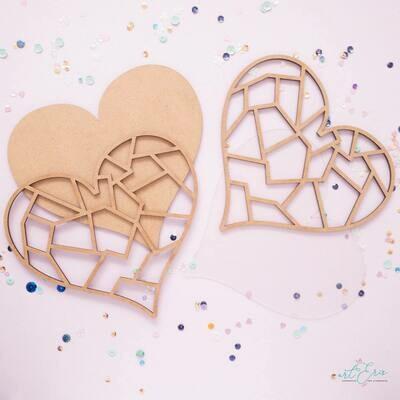 Estructura Shaker - Corazón