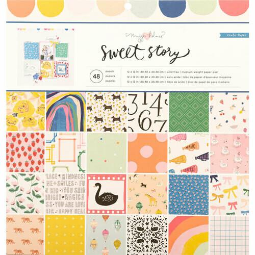 """Colección de Papeles 12""""x12"""" - Sweet Story"""