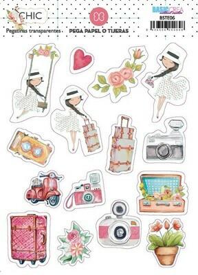 Stickers de Ilustraciones - Chic