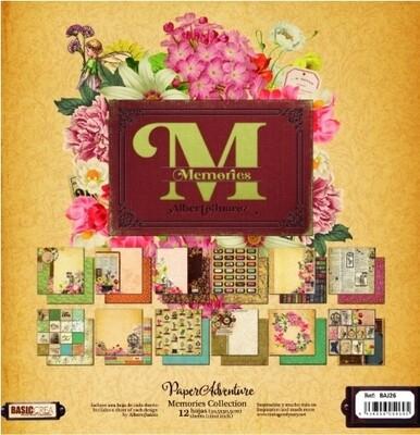 """Colección de Papeles Doble Cara 12""""x12"""" - Memories"""