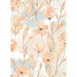 Papel de Arroz A4 - Flores