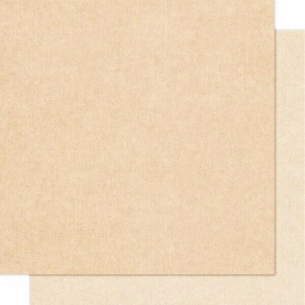 """Cartoncillo 12""""x12"""" - Kraft Claro 215 g/m2"""