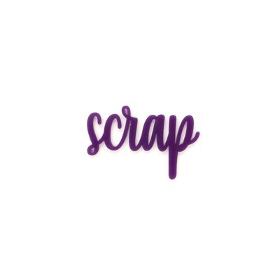 Palabra de Metacrilato - Scrap