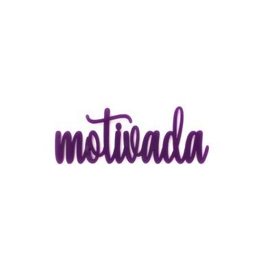Palabra de Metacrilato - Motivada