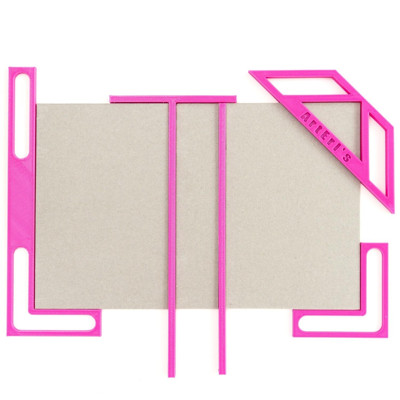 Kit para Encuadernación - Fucsia
