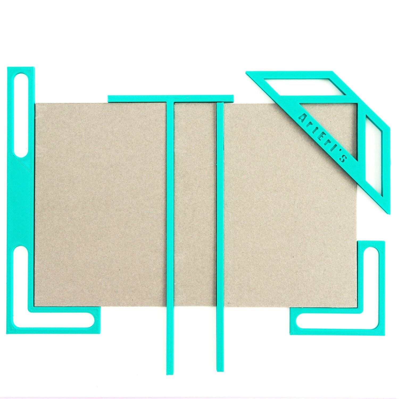 Kit para Encuadernación - Turquesa