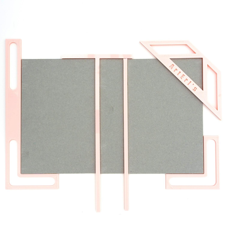 Kit para Encuadernación - Rosa Bebé