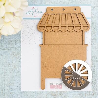 Mini Álbum - Candy Cart